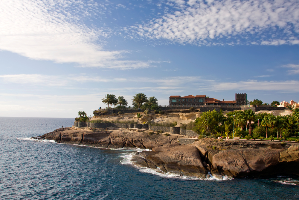 Canary island - tenerife beack coast